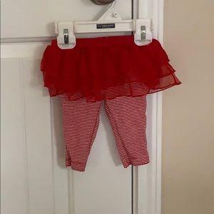 Red & white skirt